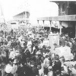 1912 - Buenos Aires - Sbarco di immigranti