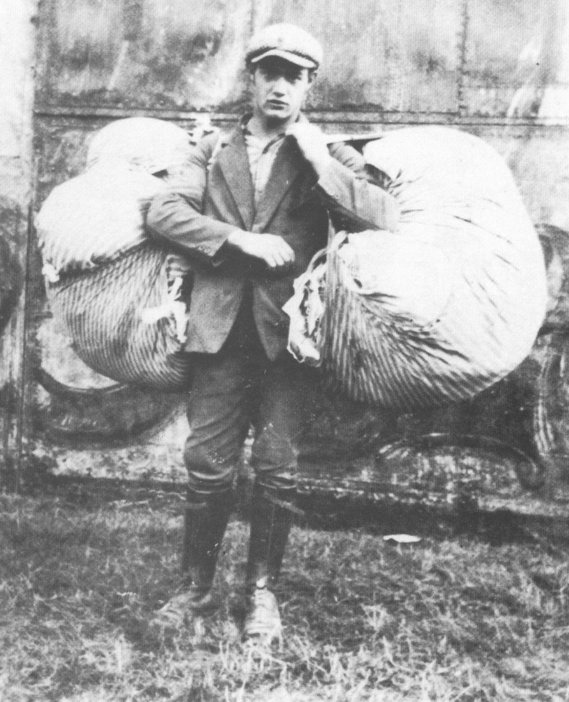 1927 - Olanda - Lino Ducci emigrato da Calamecca (Pistoia) a 16 anni