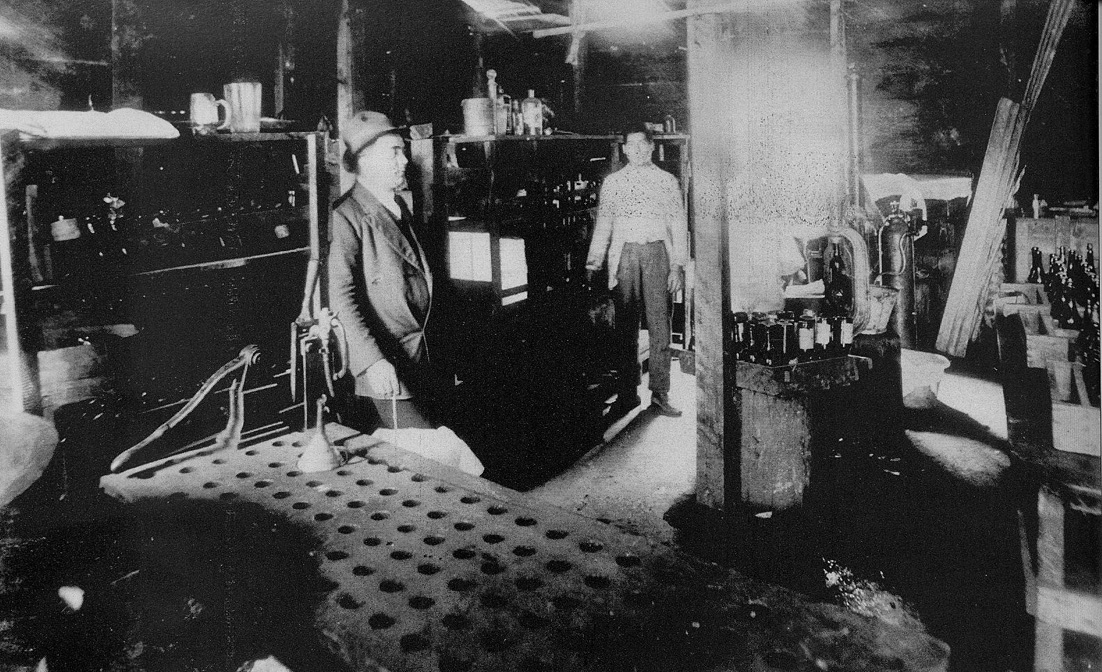 1911 - Capitan Pastene (Cile) - Fabbrica di agua gaseosas