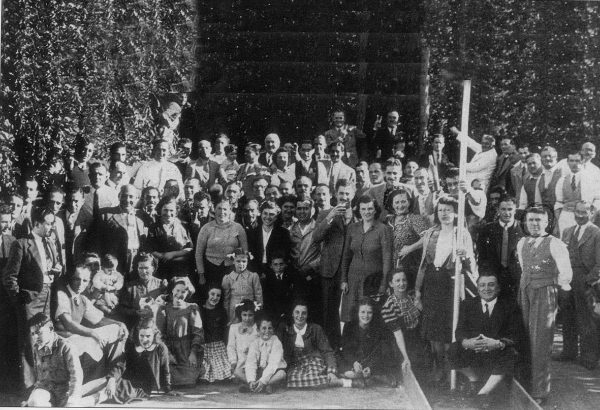 1941 - Buenos Aires (Argentina) - Festa dell'Associazione Emiliana