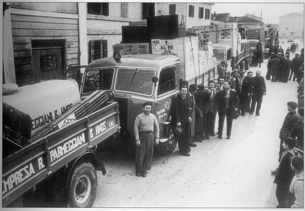 1932 - San Giovanni in Persiceto (BO) - Partenza per San Nicolas, Argentina