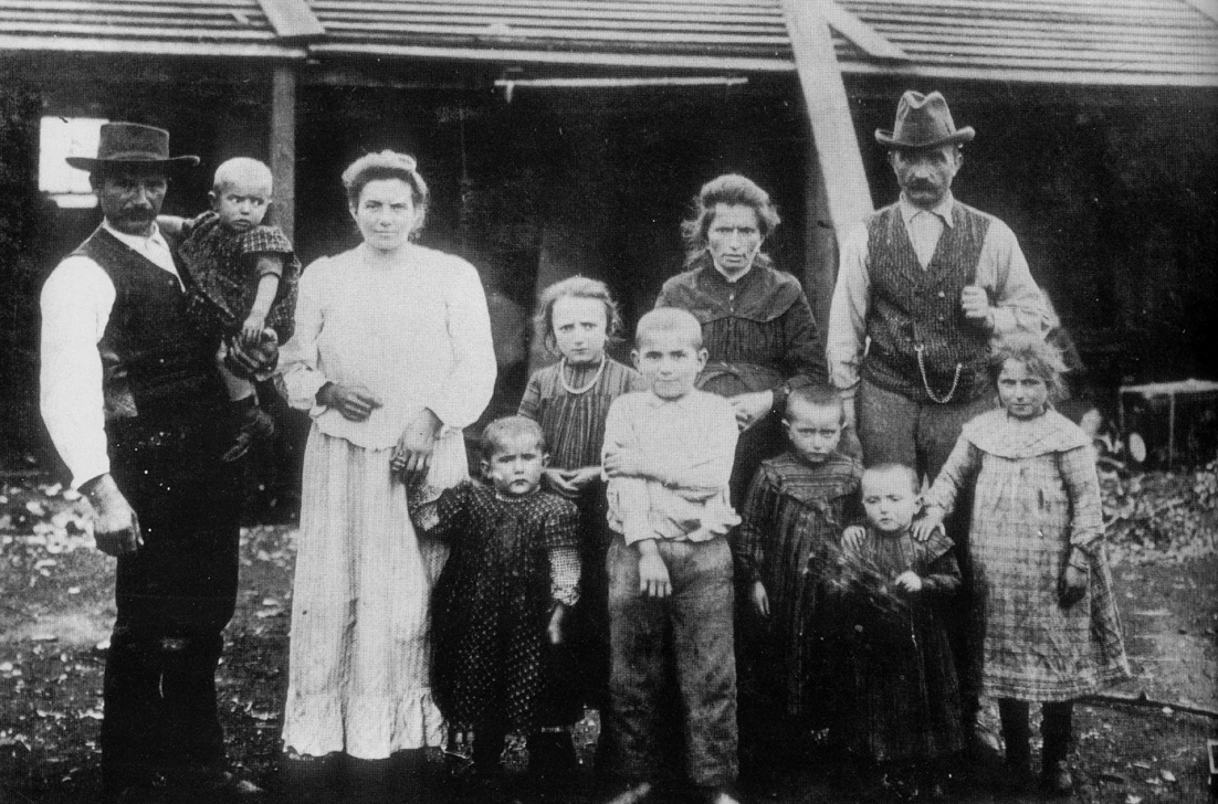 1905 - Capitan Pastene (Cile) - Famiglia emiliana