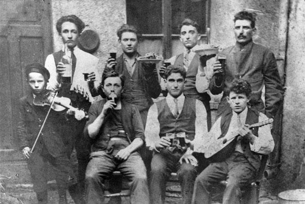 1920 - Lussemburgo - Banda di umbri di Gualdo Tadino
