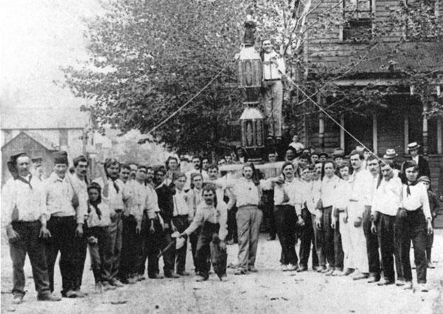 1920 - Jessup (Pennsylvania-USA) - La corsa dei ceri