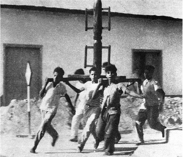 1958 - Caranj (Venezuela) - La corsa dei ceri