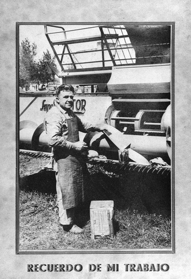 1958 - Casilda (Argentina) - Michele Leonardi di Gualdo Tadino in fabbrica