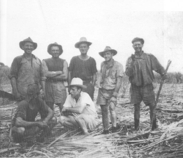 1920 - Australia - Tagliatori di canna originari dell'Isola d'Elba