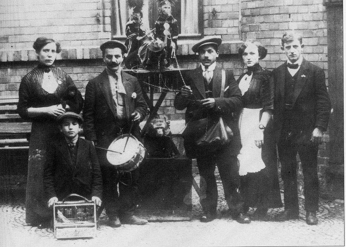 1910-20 circa - Orsanti, musicisti e girovaghi emiliani fino'800/ inizio '900