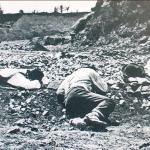 1870 - Campagne italiane: guitti a riposo in una pausa del lavoro