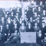 1904 - Dudelange (Lussemburgo) - La società italiana di mutuo soccorso fondata nel 1899