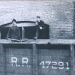 1909 - Old Forge (Pennsylvania-USA) - Caricamento del carbone estratto dalla miniera