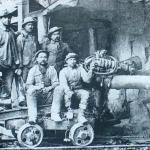 1900-1903 Sempione - Emigranti impegnati nei lavori di costruzione del traforo