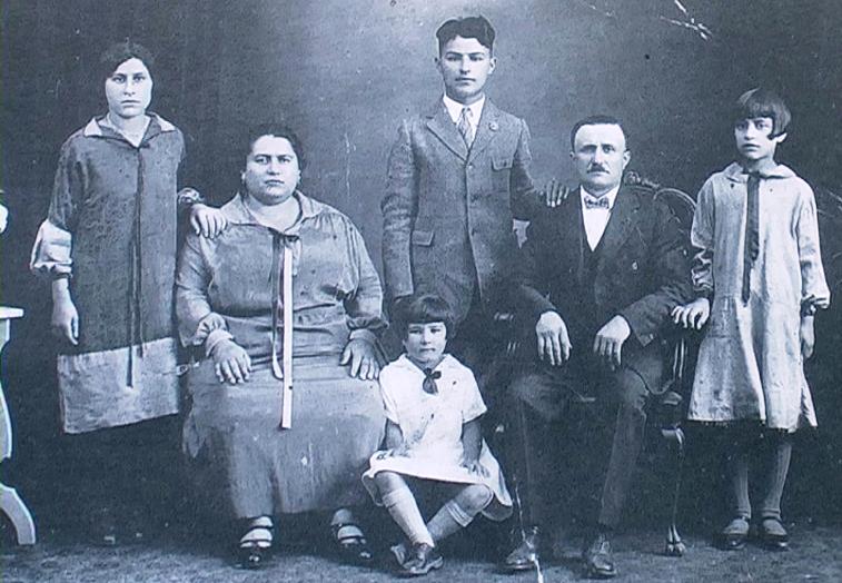1905 - Scranton (Pennsylvania-USA) - Famiglia Rosati di Sigillo