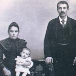 1905 - Esch-sur-Alzette (Lussemburgo) - Famiglia di Sigillo