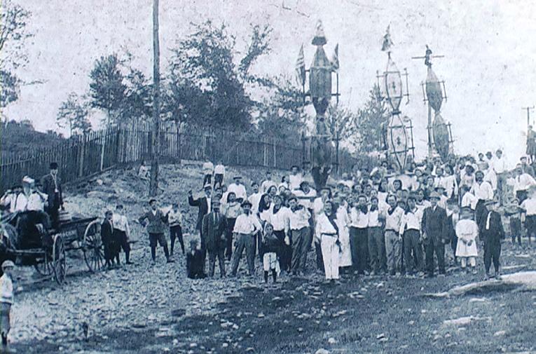 1915 - Jessup (Pennsylvania-USA) - La corsa dei ceri