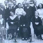 1932 - Buenos Aires (Argentina) - Gruppoo di emigranti di Gubbio in festa il 15 maggio