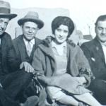 1923 - Scranton (Pennsylvania-USA) - I fratelli Eugenio e Eliseo Pennnoni, minatori di Gualdo Tadino con amici