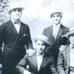 1921 - Pittton (Pennsylvania-USA) - Emigranti umbri in gita a Harvey's Lake