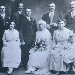 1922 - Trenton (New Jersey-USA) - Matrimonio di famiglia originaria di Norcia