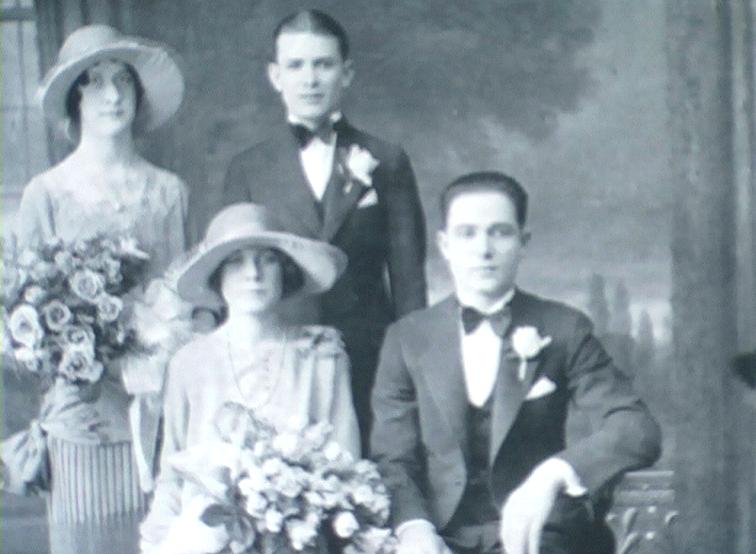 1927 - Pittsburg (Pennsylvania-USA) - Rosa e Gianni Mascioni entrambi sposi il 23 ottobre 1927