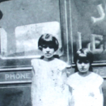 1930 - Trenton (New Jersey-USA) - Figlie della famiglia Morichelli di Norcia