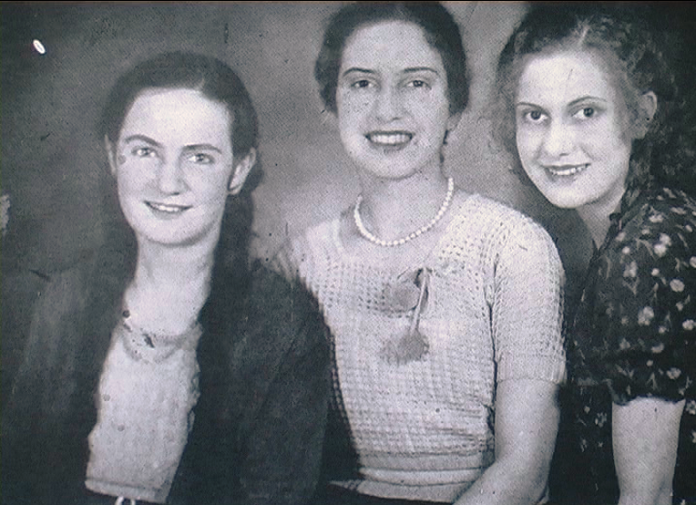 1935 - Scranton (Pennsylvania-USA) - Sorelle Cordoni originarie di Gubbio