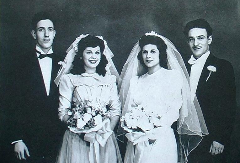 1940 - Oliphant (Pennsylvania-USA) - Matrimonio di giovani emigrati umbri