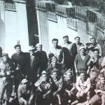 1960 - Gordola (Svizzera) - Emigranti umbri nel cantiere della diga Versasca