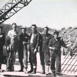 1952 - Tasmania (Australia) - Emigranti umbri in un cantiere pubblico