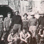 1955 - Tasmania (Australia) - Emigranti umbri in un cantiere