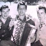 1952 - Adelaide (Australia) - Giordano Rossetto, di Gubbio, con i figli