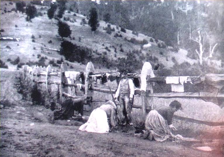1905 - Capitan Pastene (Cile) - Donne al lavoro