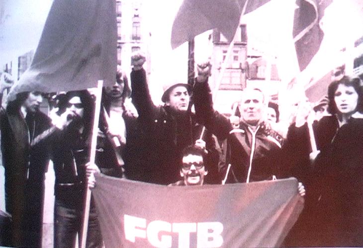 1975 - Liegi (Belgio) - Manifestazione sindacale