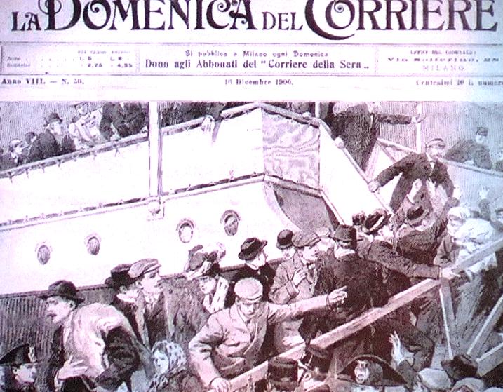 16.12.1906 - Epopea dei migranti verso le Americhe