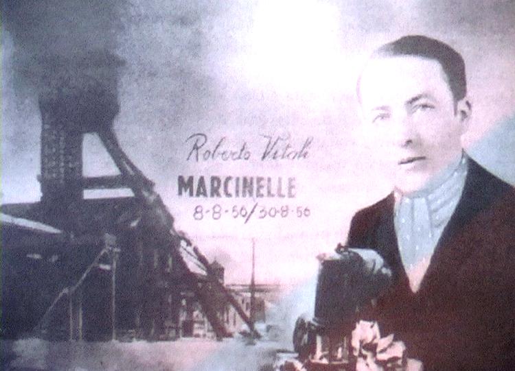 8.8.1956 - Foto ricordo di Roberto Vitali morto a Marcinelle