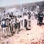 1938 - Rio Grande do Sul (Brasile) - Operai alla costruzione di strade
